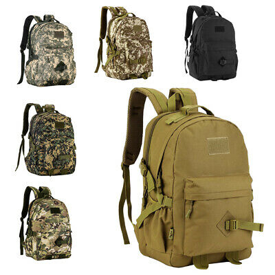 Portable 40L Military Backpack Tactical Camping Hiking Climbing Bag Outdoor