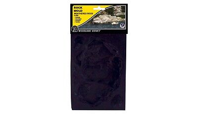 Woodland Scenics Weathered Rock Rubber Rock Mold Item # C1238 Factory Sealed
