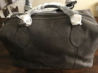 74e196e71dc Frye  Logan  Leather Overnight Bag Duffle with Dust Bag NEW Brown  (chocolate)