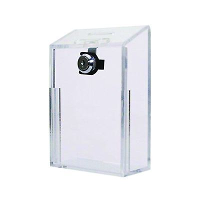 MCB - Acrylic Box - Donation Box - Suggestion Box - Coin Collection Box - Wit...