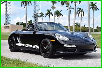 2011 Porsche Boxster Base Convertible 2-Door 2011 BOXSTER TRIPLE BLK 6 SPEED ONE OWNER