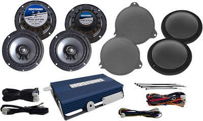 Hogtunes Nca 450U Kit-Rm 4 Speaker 200 Watt Amp Kit Harley 2014-17 Fl 4405-0353