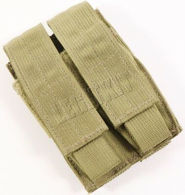 NEW Eagle Industries MLCS Double Pistol Mag Pouch MJK Tan MOLLE Navy SEAL