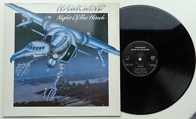 215	Hawkwind	Night of the Hawk	(POW 5502)	UK LP, avm 1989