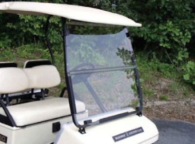 Yamaha Golf Cart Clear Fold Down Windshield Fits Models G2 and G9