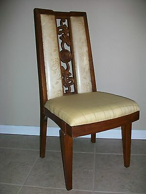 Unique Carved Antique? Chair Dining Side Desk French Country Victorian American