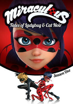 Miraculous: Tales Of Ladybug And Cat Noir - Season One [New DVD] Boxed Set, Su