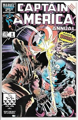 Marvel Comics CAPTAIN AMERICA ANNUAL #8 first printing