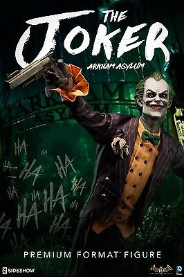 Sideshow Collectibles JOKER ARKHAM ASYLUM Exclusive PF Figure DC Comics Batman