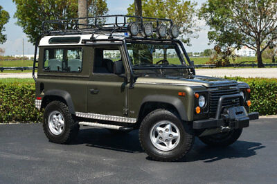 1997 Land Rover Defender LIMITED EDITION #168/300 1997 LAND ROVER DEFENDER 90 LE #168/300 - WILLOW GREEN - ONLY 13K ACTUAL MILES