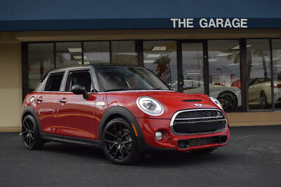 "2016 Mini Cooper S 4dr Hatchback S '16 Mini Cooper S,18""Blk Wheels,Media Pkg,Sport Pkg,Rear Spoiler,Blk Roof & Mirr"