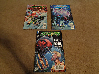 DC Comics Aquaman Issues 50, 51, and 52