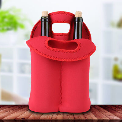Dust-proof Neoprene Bottle Cooler Wine-bottle Bag Protective Cover Sleeve Holder