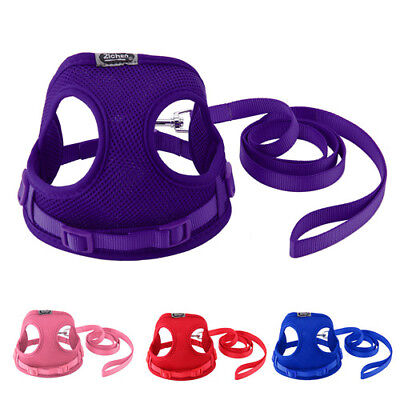2Colors Tiny Dog Harness Lead Set Teacup Mini Puppy Chihuahua Rabbit Cat Toy