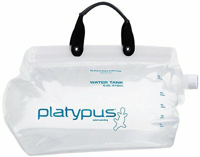 Platypus Water Tank * Wassertank - Kanister  * In 2 Grössen - Transparent - Neu