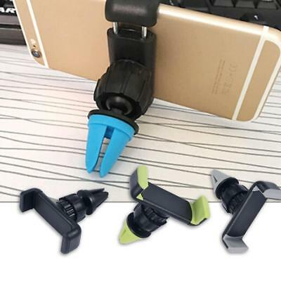 Car Air Vent Mobile Phone Holder Outlet Bracket Anti-Skid 360 Degree Rotate df