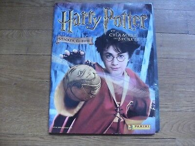 Rare ! Finir votre collection panini HARRY POTTER et la chambre des secrets 2002