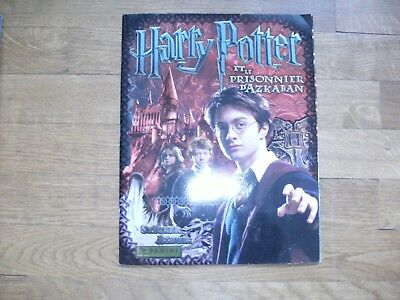 * Fini votre collection panini HARRY POTTER le prisonnier d'AZKABAN 2004