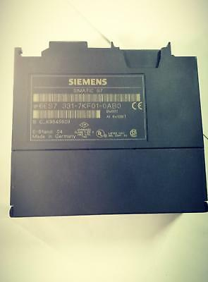Siemens PLC 6ES7331-7KF02-0AB0 Used in Great Condition