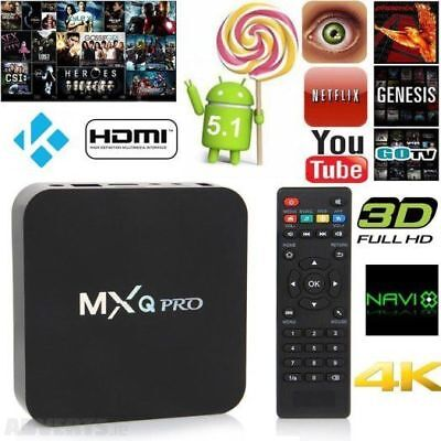 Smart TV BOX MXq Pro Android Mini PC Quad Core WiFi 1GB - 8GB 4K*2K 1080P IPTV 1