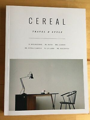 Cereal Magazine # 09. Travel & Style - Melbourne,Bath,Lisbon,Maldieves