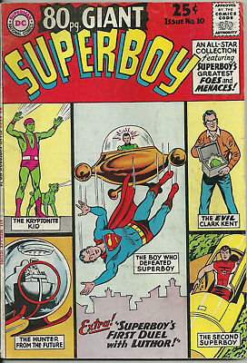80 Page Giant #10 (DC Comics, May 1965) 5.0 VG/F Superboy
