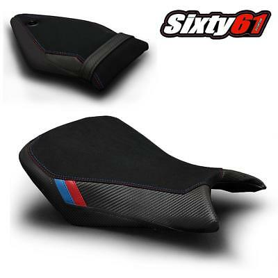BMW S1000RR Seat Cover 2015 2016 2017 Black Red Blue Front-Rear Luimoto