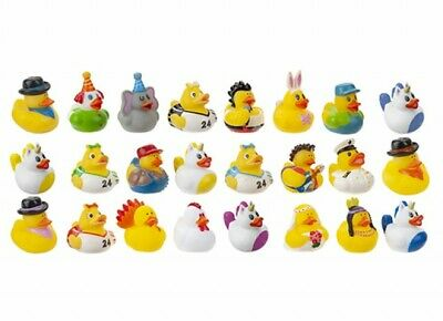 Bulk buy mini rubber ducks mix up ducks for gifts party bags charity events etc