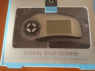 Multi Function  Digital Golf Scorer ..watch .and Thermometer