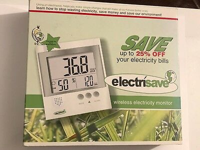 Universal Electrisave Wireless Electricity Monitor