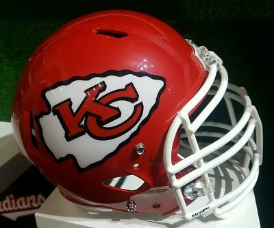 NFL Kansas City Chiefs Replica Custom Helm