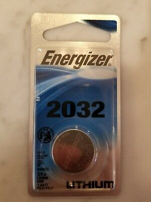 Energizer 2032 3V Lithium Battery Retail Packaging 1-Count