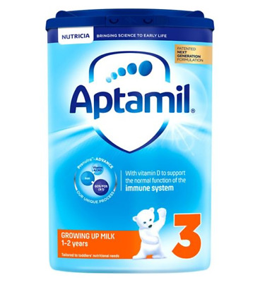Aptamil with Pronutra+ Growing Up Milk 3 1-2 Years 900g pack of 6