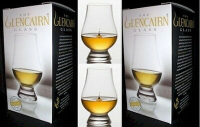 (2) Official Glencairn SCOTCH WHISKY CRYSTAL Glasses