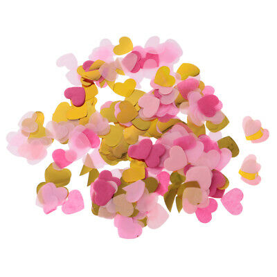 1400x Wedding Heart Shape Paper Table Confetti Scatter Hen Night Part Supply