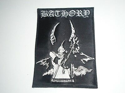 Bathory Quorthon Black Metal Embroidered Patch