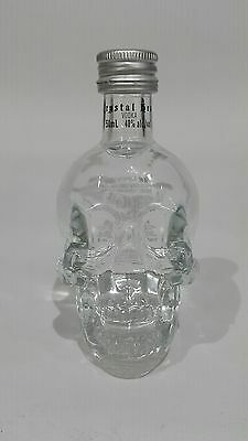Crystal Head Vodka! Mini Glass 50 ml Skull Bottle!