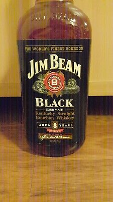 Jim Beam Bourbon Black 8 Year Old!! 1 Litre! Rare & Discontinued! Sealed!