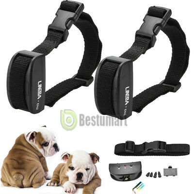 2 X Anti Bark No Barking Shock Control Training Collar for Small Medium Pet Dog