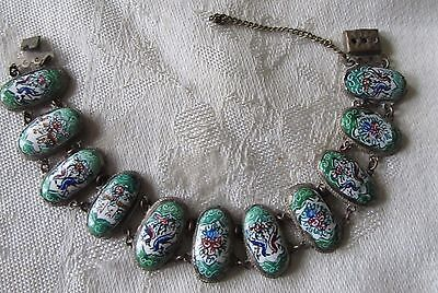 Antique / Vintage Persian Story Telling Bracelet - Hand Painted ~ Buy Now !!