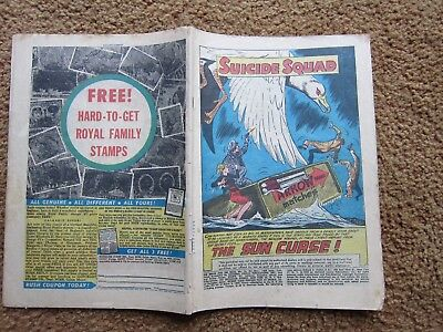 Brave and the Bold(1959)  #26   2nd Suicide Squad  DC Comic  Coverless