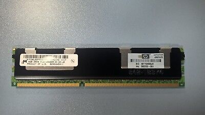 8GB (2x4GB) DDR3 PC3-10600R 1066 ECC Registered Server RAM HP