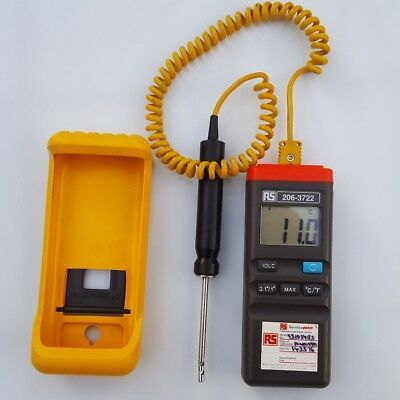 rs 206-3722 thermocouple thermometer temperature  probe