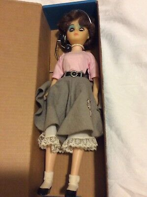 1984 Limited Series Telephone People 1950 Brunette Operator Doll  & Accessories
