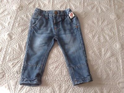 Next UK Toddlers Denim Jeans 3-6 Mths