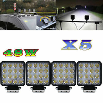 20x 48W Lampe de travail LED lumière for Ford JEEP Telehandler offroad SUV ATV