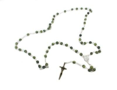 New Connemara Marble Irish Rosary Made in Ireland
