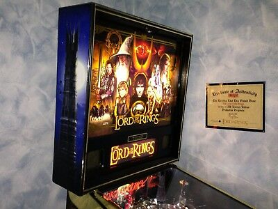 Flipper/pinball Stern The Lord Of The Rings Limited Edition Nr. 426/500