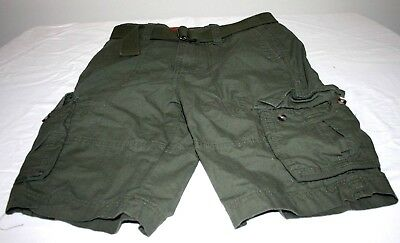 d5849d18b1 New Mossimo Supply Co. W28 Belted Cargo Shorts Size 28 11.5