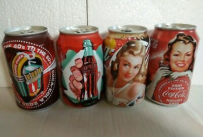 ONE COMPLATE SET COKE CAN 120TH FROM belgium